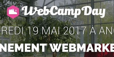 Le référencement à l'honneur au WebCamp Day 2017